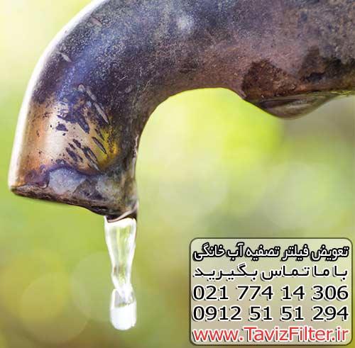 بحران آب آشامیدنی در کشور ایران