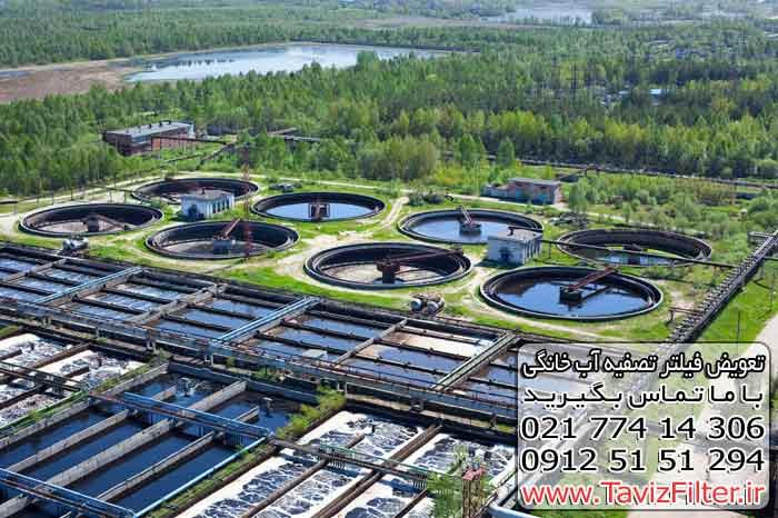 فیلتر تصفیه آب فاضلاب شهری صنعتی